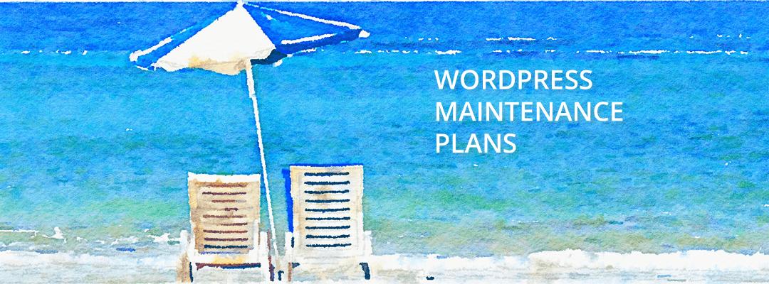WordPress Maintenance Plans